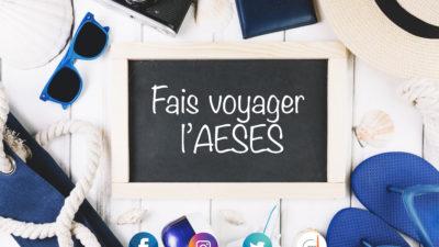Permalien vers : JEU CONCOURS : Fais voyager l'AESES