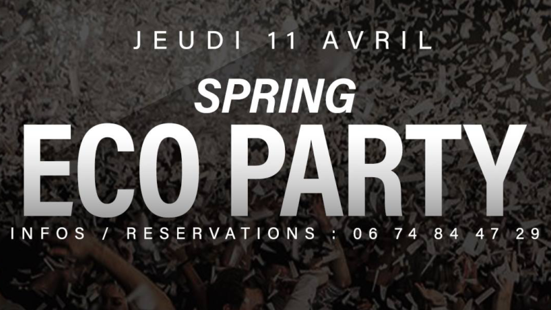 Permalien vers : Spring Eco Party Au Gold Club